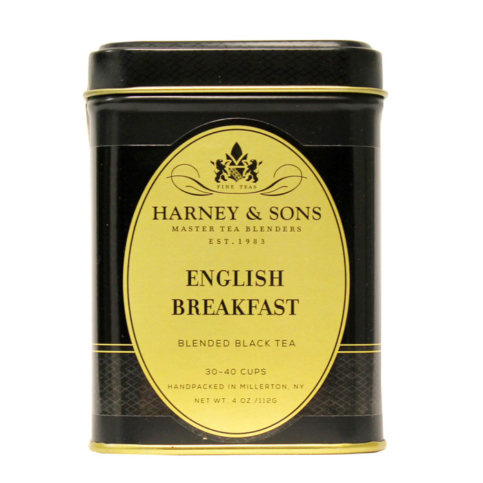 Harney & Sons English Breakfast tea with 100% Keemun.