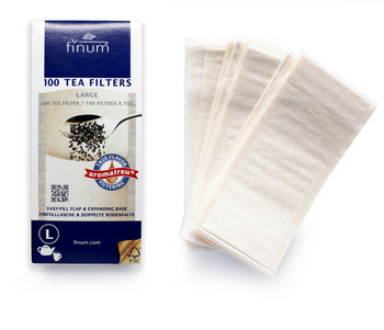 Finum Tea Filters 100 ct - Large