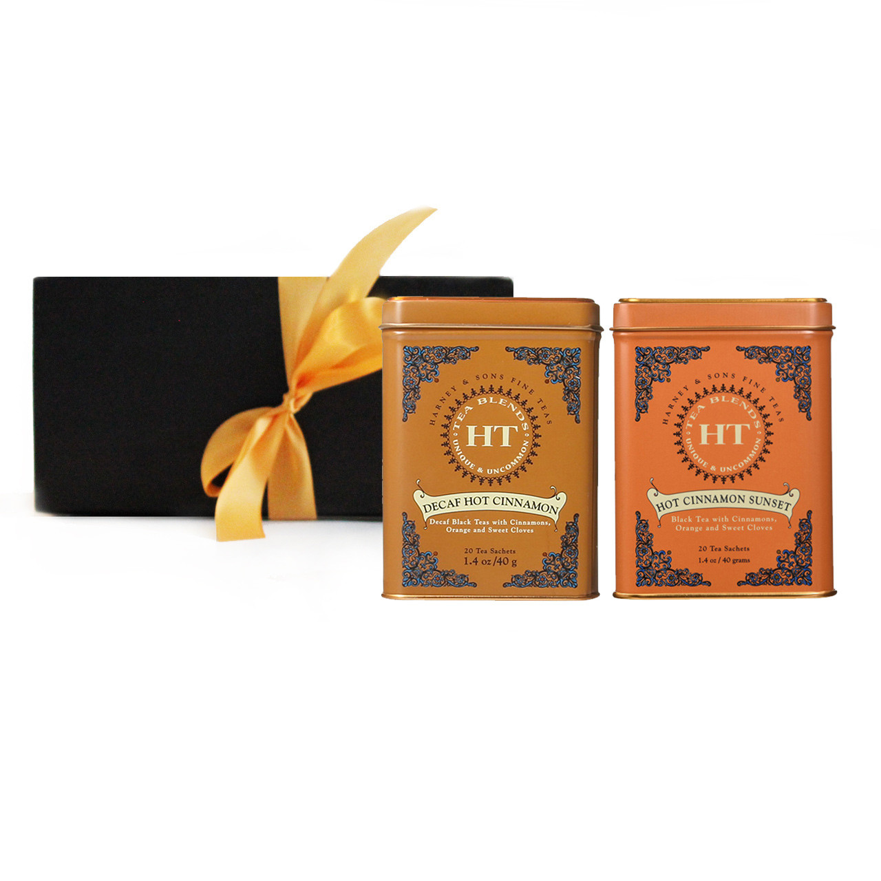 Harney Sons Hot Cinnamon Sunset Tea Gift Set Premium Teas