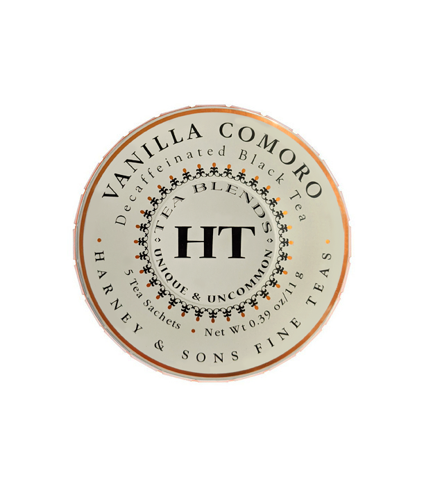 Vanilla Comoro Decaf Teas - Tagalong with 5 sachets