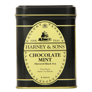 Harney & Sons Chocolate Mint Loose Tea 4 oz