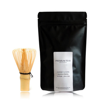 Harney & Sons Japanese Matcha and Whisk Set