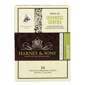 Harney & Sons Japanese Sencha 20 Wrapped Sachets