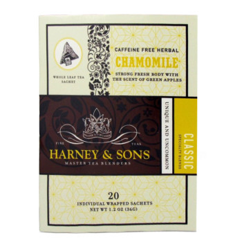 Harney & Sons Chamomile 20 Wrapped Sachets