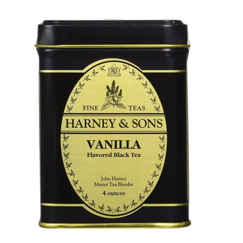 Harney & Sons Vanilla Black Tea 4 oz
