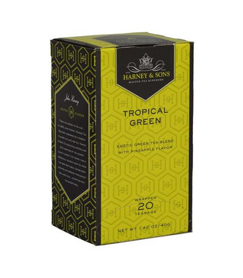 Harney & Sons Tropical Green Tea 20 Premium teabags