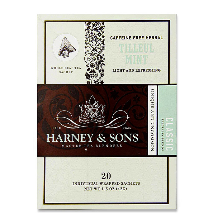 Harney & Sons mint and linden tea