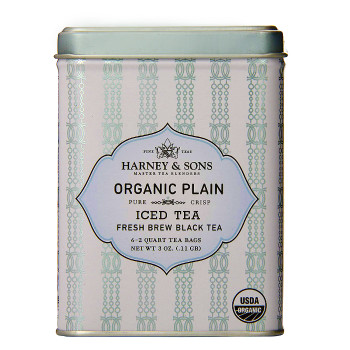 Harney & Sons Organic Plain Black Fresh Brew Iced Tea