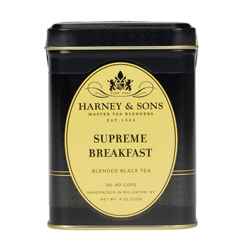 Harney & Sons Supreme Breakfast Loose Tea 4 oz