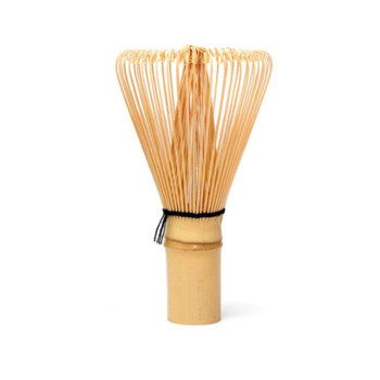 Mini matcha whisk with 50 prongs.