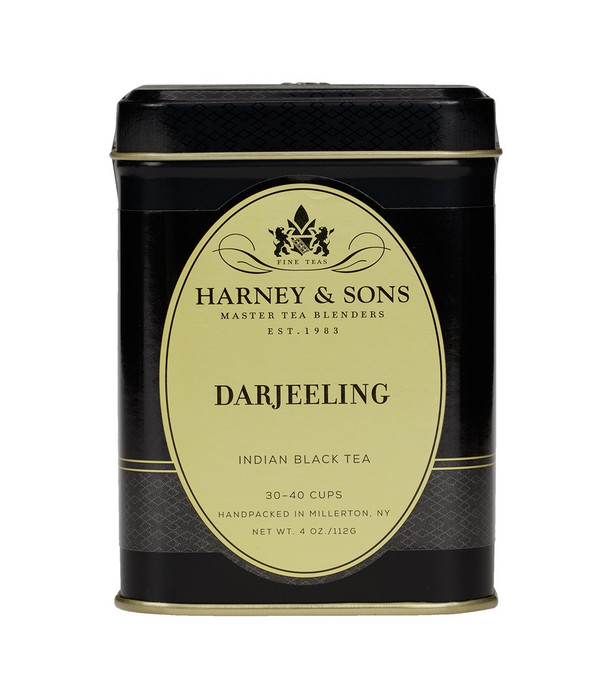 Harney & Sons Darjeeling first flush and autumnal teas.