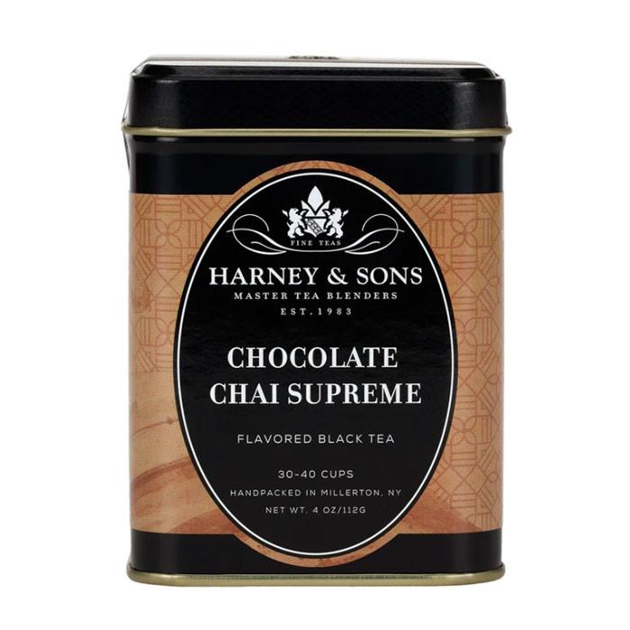 Harney & Sons Chocolate Chai Supreme Tea - 4 oz loose tea