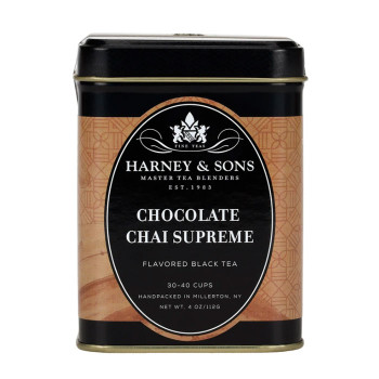 Harney & Sons Chocolate Chai Supreme Tea - 4 oz loose tea