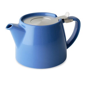 Stump teapot - Blue