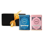 Harney & Sons Blueberry Green Tea and Coconut Green Tea are packaged in a beautiful, elegant box with a silken ribbon for the perfect gift this Holiday Season.