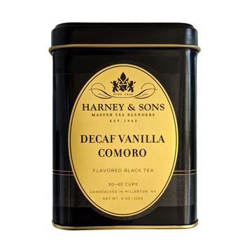 Harney & Sons Decaf Vanilla Comoro 4 oz