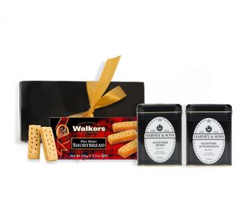 Harney & Sons Scottish Tea & Cookies Gift Set