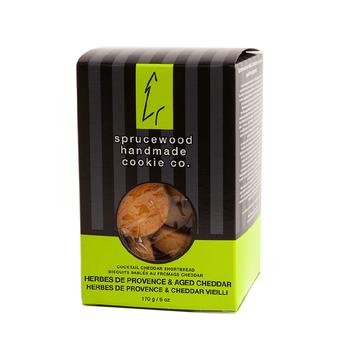 Savoury Cheddar Herbes de Provence Shortbread