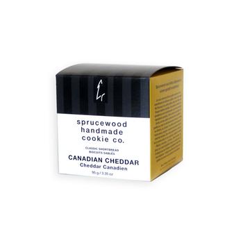 Sprucewood Savoury Cheddar Shortbread - Small Box