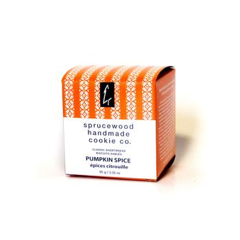 Sprucewood Fresh Pumpkin Spice Shortbread - Small Box