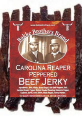 Carolina Reaper Insanely Hot  Pepper Jerky 7oz