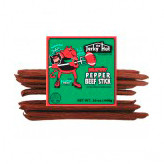Jalapeno Pete's beef stick is our mild beef stick with Jalapeno chili added in for just a spark of heat!