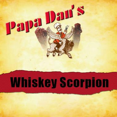 Whiskey Scorpion Hot Jerky