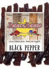 Black Pepper Thick Steak Cut Jerky Jerks 8oz