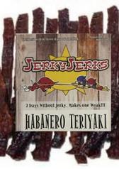 Habanero Teriyaki Jerky Jerks 8oz