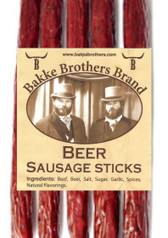 Whiskey Hill Beer Sausage Sticks