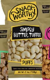Butter Toffee Corn Puffs