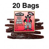 Black Peppered Bad Bart Jerky Full Case 20 Bags