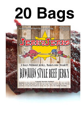 Hawaiian Style Premium Beef Jerky Full Case 20 Bags