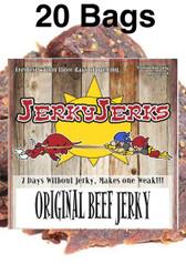 Original Thin Cut Jerky Full Case 20 Bags