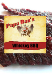 Whiskey BBQ Premium PD Beef Jerky 8oz