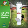 Waste Reducing Chicken Feeder