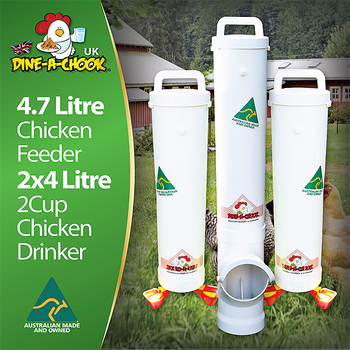 Chicken Feeder and Drinker kit