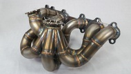 Future Fab Toyota 2JZGTE V-band Exhaust Manifold