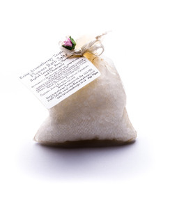 Bath Salts in organza bag