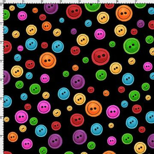 Button dots blk