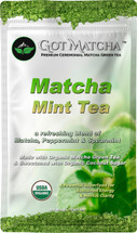 Matcha MINT Organic Blended Tea 150 Grams