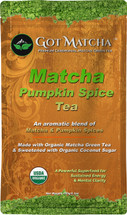 Matcha PUMPKIN-SPICE Organic Blended Tea 150 Grams