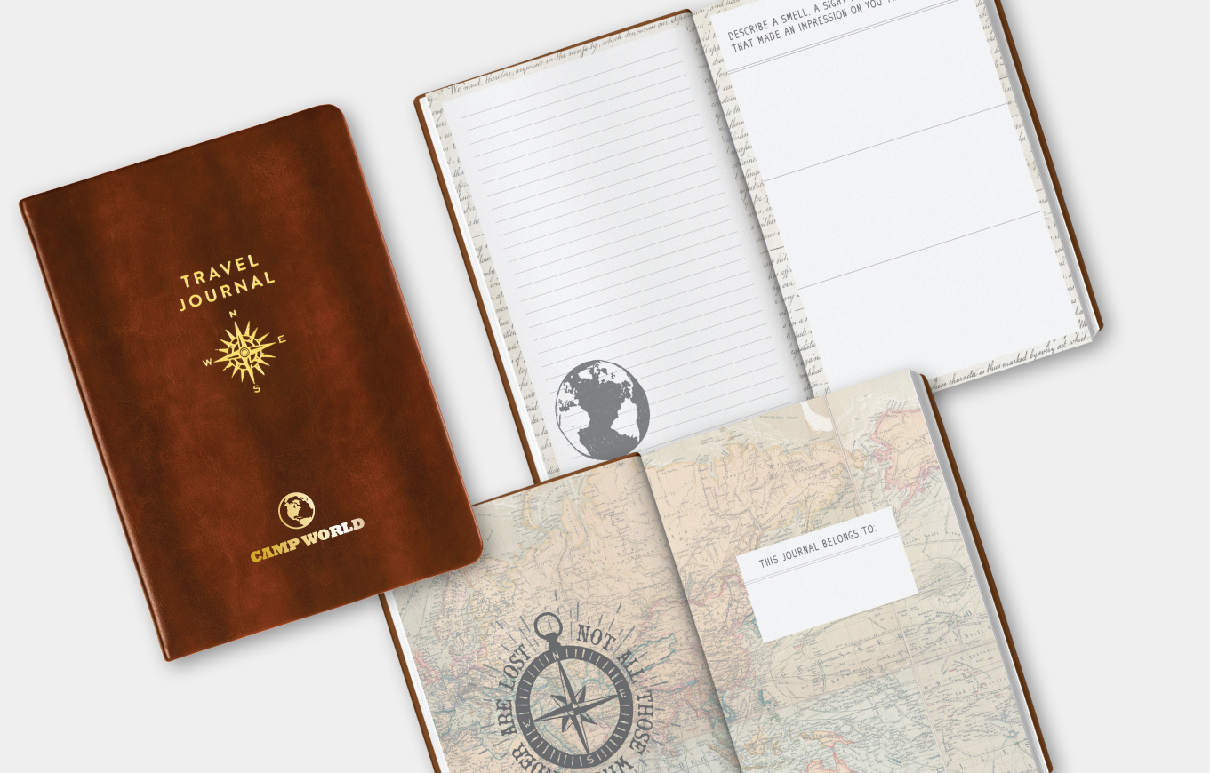 Guided Journal with Travel Quotes