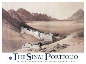 The Sinai Portfolio by R.A. Roberts, David, 9789774246340