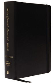 NKJV, Journal the Word Bible, Hardcover, Black, Red Letter, Comfort Print (Reflect, Journal, or Create Art Next to Your Favorite Verses) by Thomas Nelson, 9780785218500