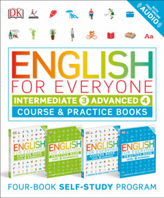 English for Everyone: Intermediate and Advanced Box Set (Course and Practice Books Four-Book Self-Study Program) by DK, 9781465475602