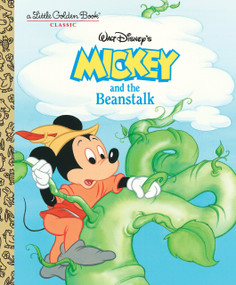 Mickey and the Beanstalk (Disney Classic) by Dina Anastasio, Golden Books, 9780736437851