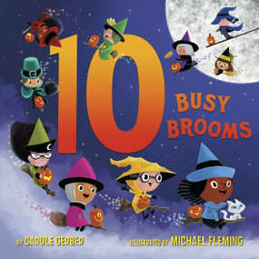10 Busy Brooms - 9781524768997 by Carole Gerber, Michael Fleming, 9781524768997