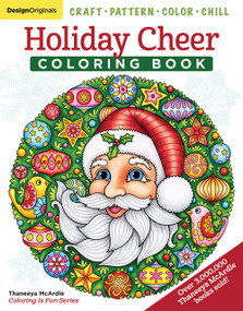 Holiday Cheer Coloring Book (Craft, Pattern, Color, Chill) by Thaneeya McArdle, 9781497204126