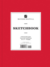 Large Sketchbook (Ruby Red) by Watson-Guptill, 9780399582363